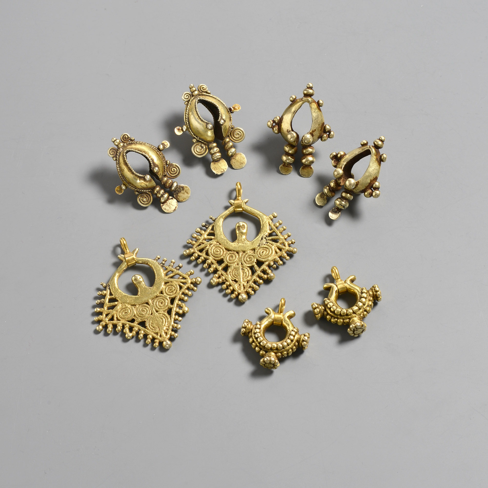 East Timor and Tanimbar Earrings.
